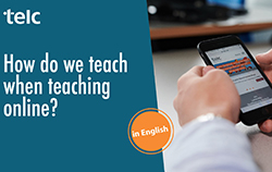 Online-Seminar how do we teach when teaching online