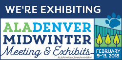 ALA Midwinter_ We Are Exhibiting