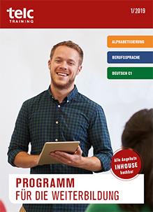 telc Weiterbildungsprogramm 2019