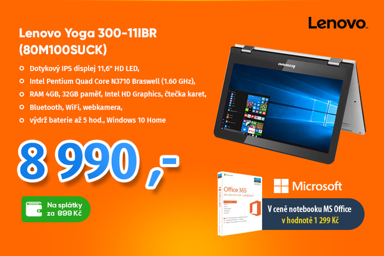 Notebook Lenovo Yoga 300IBR