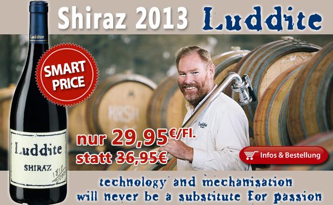 2013er Shiraz – Luddite