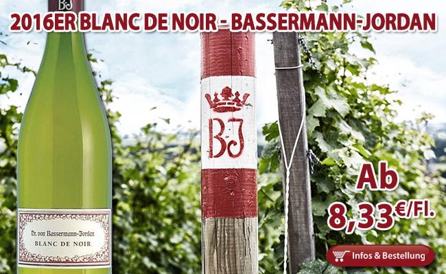 2016er Blanc de Noir Bassermann-Jordan Pfalz