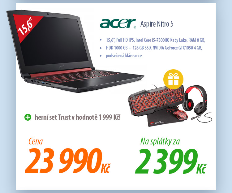 Notebook Acer Aspire Nitro 5 NH.Q2REC.001