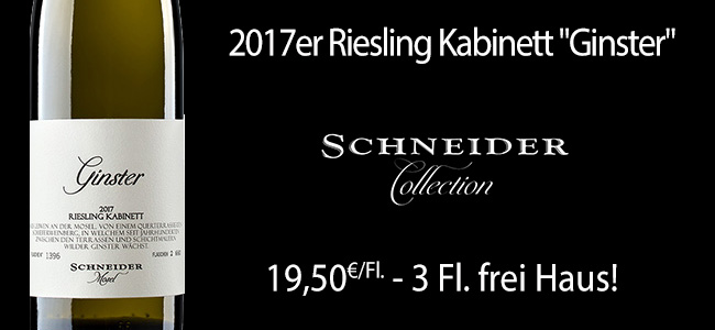 Auf zu neuen Ufern: Markus Schneider Riesling Mosel! Nur 2.660 Flaschen gefüllt!