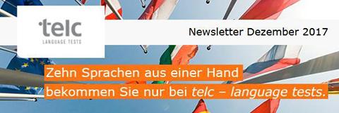 telc Newsletter Dezember