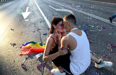 Gay Pride LGBT rally in Podgorica