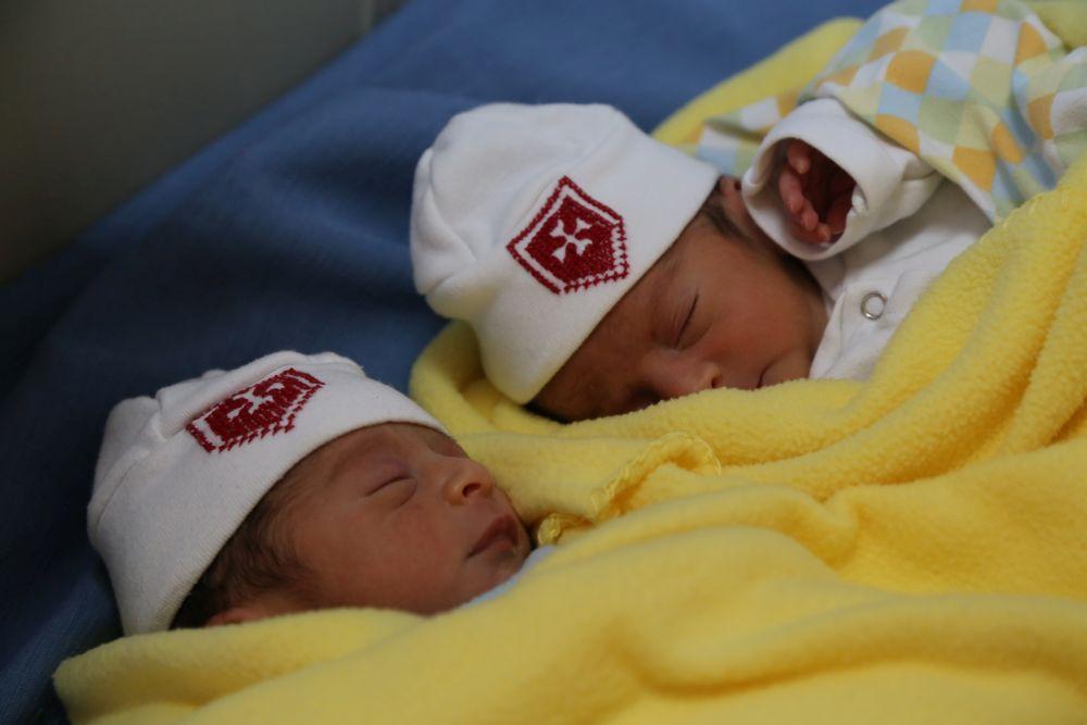 Babys in der Malteser Klinik in Bethlehem
