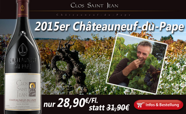 "2015 Clos Saint Jean: ""so many monumental bottles"""