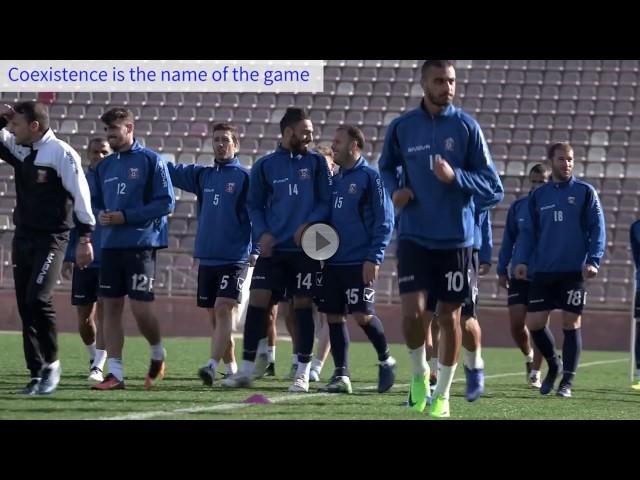 Die Fußballmannschaft Bnei Sachnin