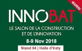 Salon Innobat à Biarritz les 8 et 9 novembre 2018