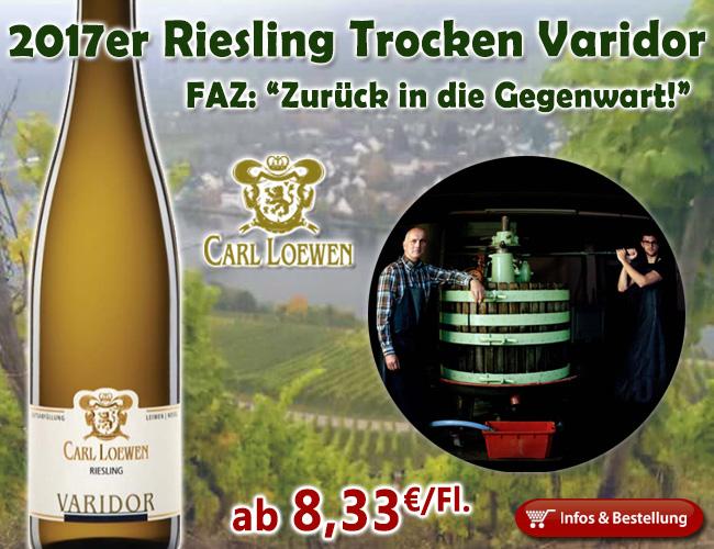 2017er Riesling Varidor – Weingut Carl Loewen