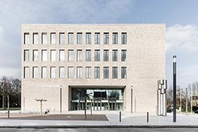 GEZE Referenz Justizzentrum Gelsenkirchen
