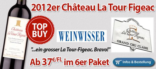 """R. Gabriel: """"Ein grosser La Tour-Figeac. Bravo!"""""""