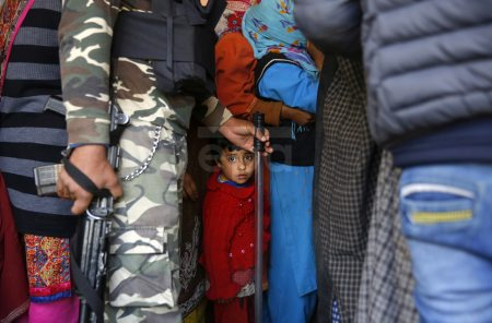 Second phase of general elections in Srinagar