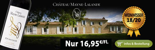 2015er Mayne Lalande nur 16,95€/Fl.