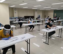 telc Prüfung auf den Philippinen zu Zeiten von Corona