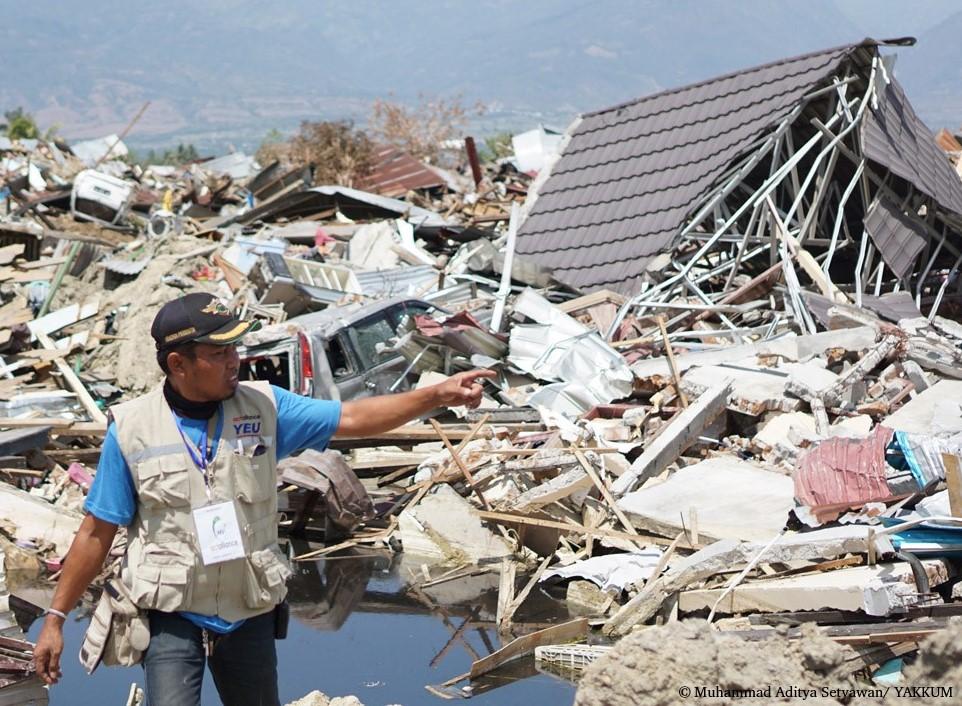 Indonésie Tsunami