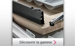 Photo de la gamme des tiroirs