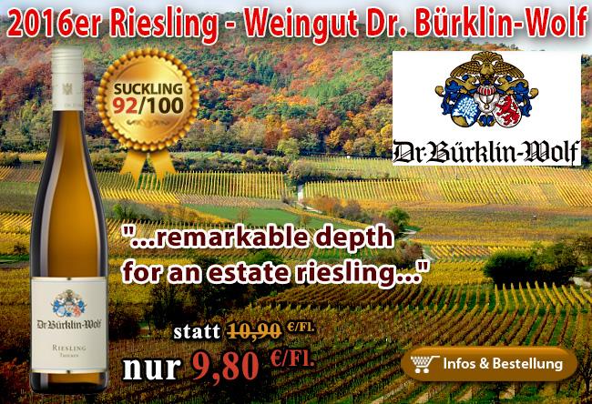 2016er Riesling Weingut Dr. Bürklin-Wolf