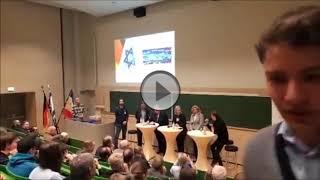 Podiumsdiskussion beim Israeltag in Mecklenburg Vorpommern am 22 01 18