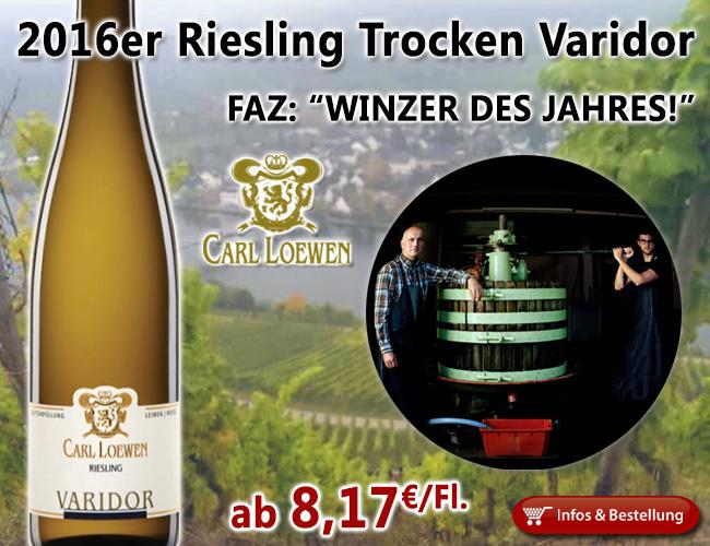 FAZ - Winzer des Jahres 2017: Weingut Carl Loewen…in die erste Liga…