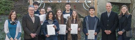 Erfolgreiche Absolventinnen und Absolventen telc English B2-C1