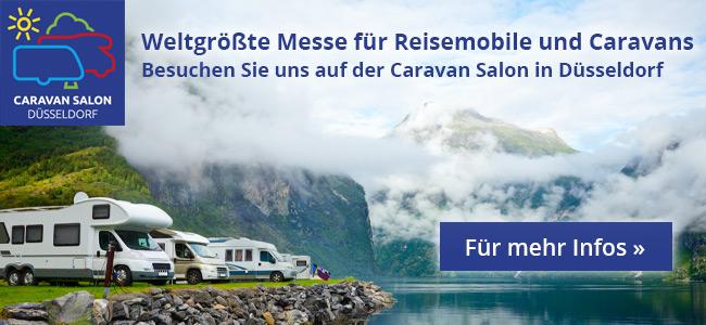 Weltgrößte Messe für Reisemobile und Caravans