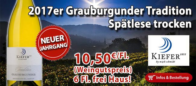 Grauburgunder aus Baden, so wie er sein sollte!
