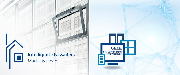 GEZE auf der fensterbau und light + building 2018