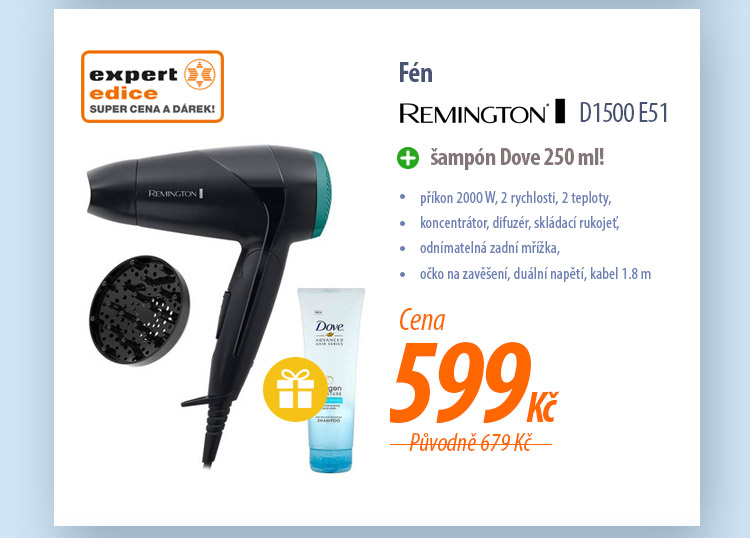 Fén Remington D1500 E51