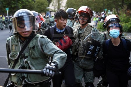 Ongoing protests in Hong Kong