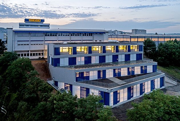 Das neue GEZE Entwicklungsgebäude