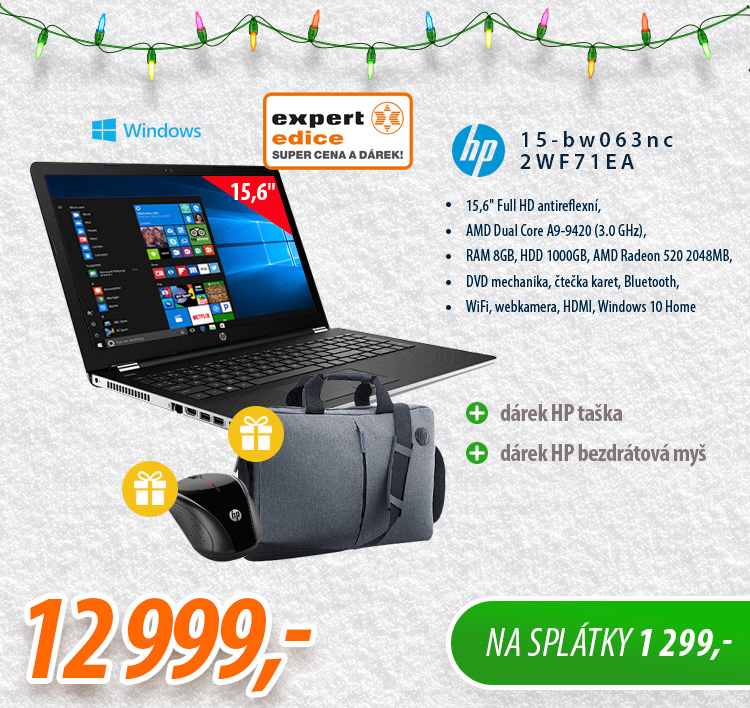 Notebook HP 15-bw063nc