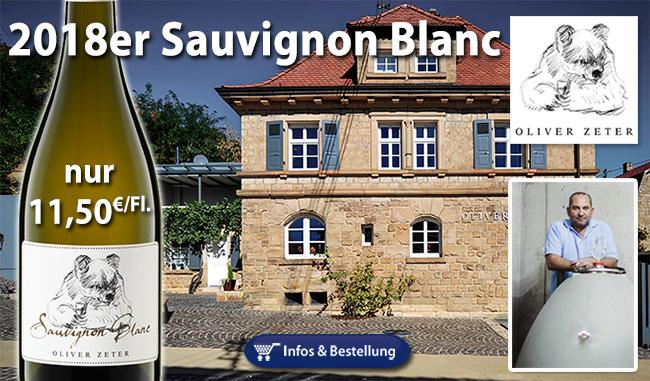 2018er Sauvignon Blanc – Oliver Zeter