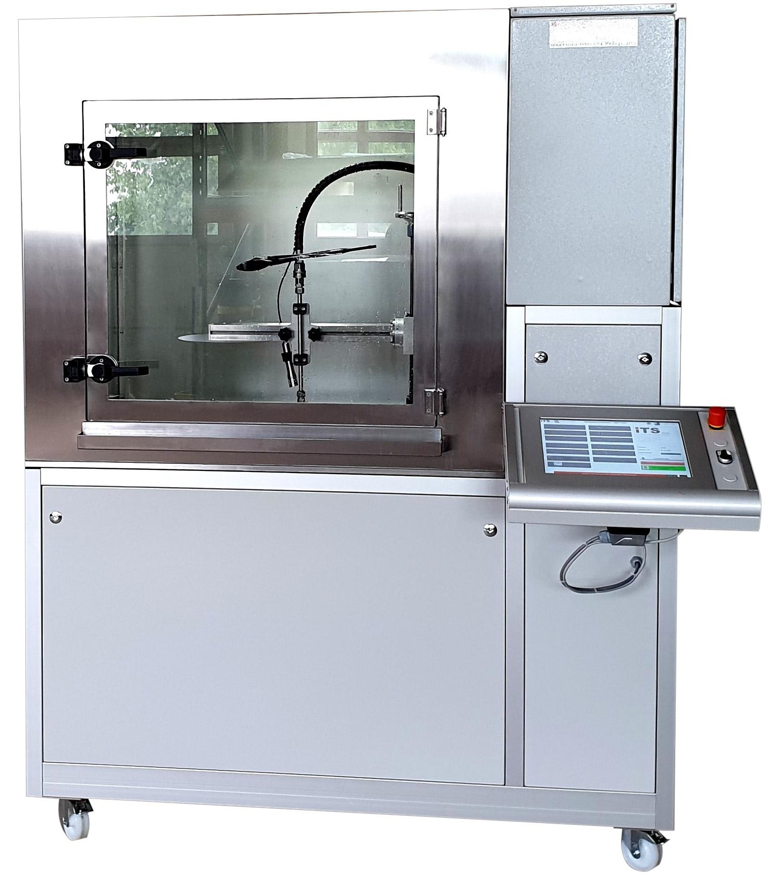 Druckwasserstrahlprüfung