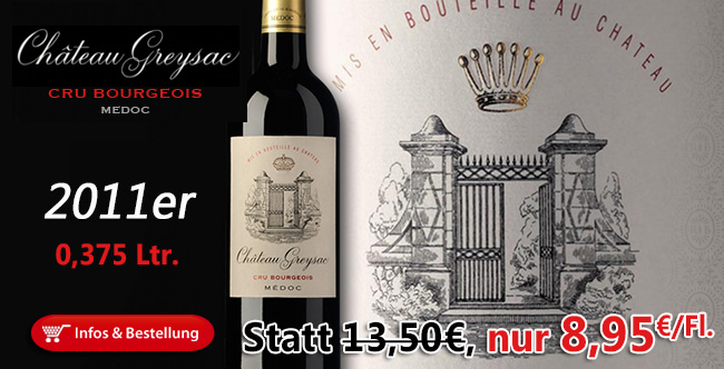 Rene Gabriel: Ein Riesenspass für wenig Geld in der 0,375 Ltr.-Flasche nur 8,95€/Fl.