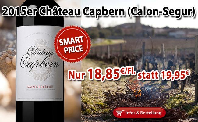 Smart-Buy von der Calon Segur Equipe: 2015 Château Capbern ab 18,95€/Fl.