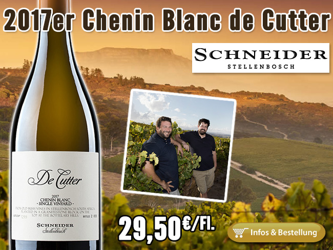 Mit diesem Weißwein schlägt Markus Schneider ein komplett neues Kapitel auf!