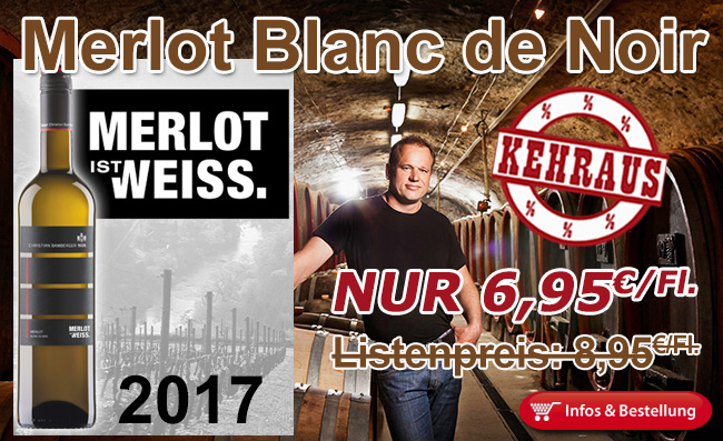 KEHRAUSANGEBOT Blanc de Noir 2017 Christian Bamberger
