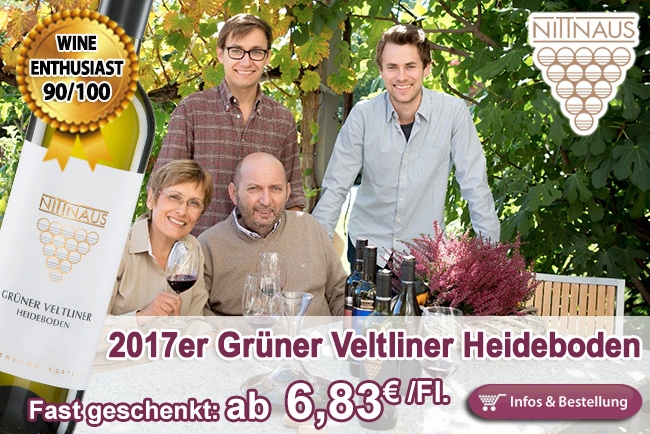 Eigentlich fast geschenkt: 2017er Grüner Veltliner Heideboden - Nittnaus