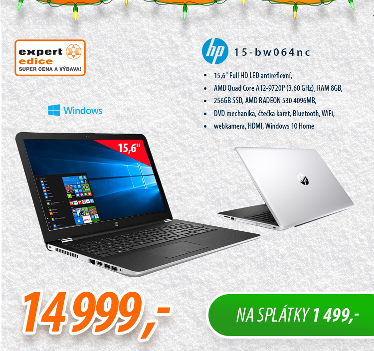 Notebook HP 15-bw064nc