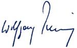 """Unterschrift """"Wolfgang Penning"""""""
