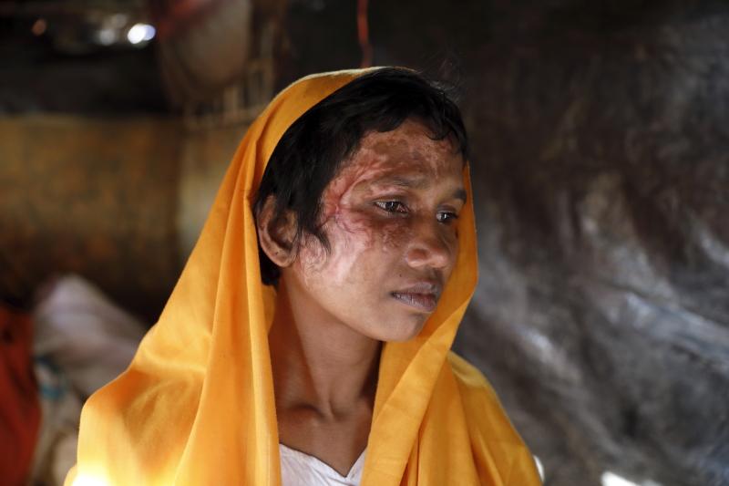 Traumatisiert: Flüchtlinge aus Myanmar in Bangladesch