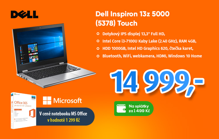 Notebook Dell Inspiron 13z 5000 Touch