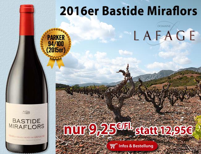 Wieder zu gut um wahr zu sein… 2016er Bastide Miraflors