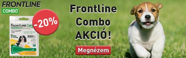 Frontline Combo -20% kedvezménnyel