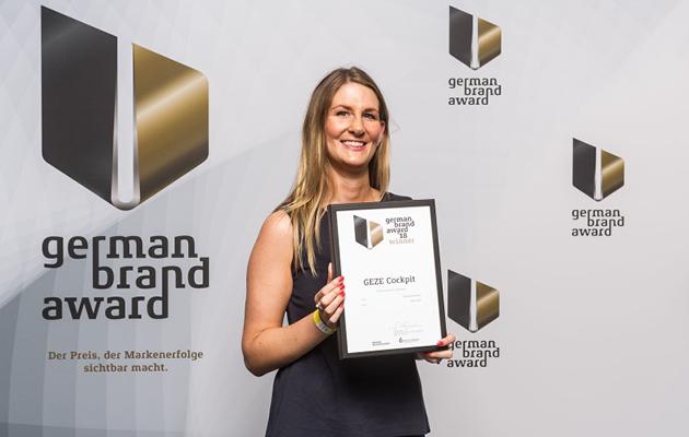 GEZE German Brand Award 2018