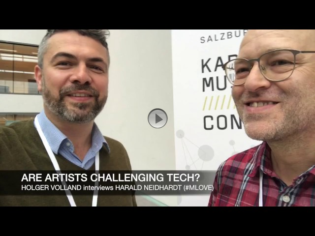 THE ARTS+ INTERVIEW: ARE ARTISTS CHALLENGING TECH?