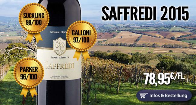 Saffredi 2015 – 96/97/99/100 Punkte