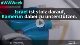Israel hilft Kamerun im Kampf gegen Cholera